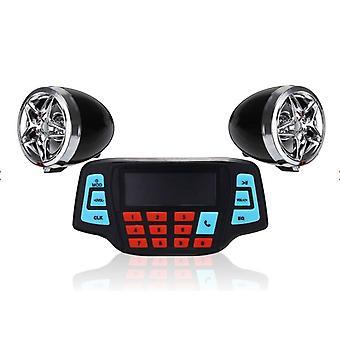 Motorrad Lenker Verstärker Radio Stereo Lautsprecher MP3 FM Player mit Bluetooth