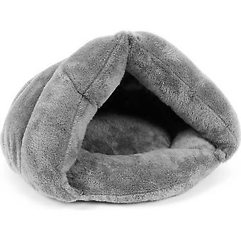 Ágy pamut hálózsák szürke macska