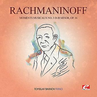 Rachmaninov - Moments Musicaux 3 in B Min 16 USA import
