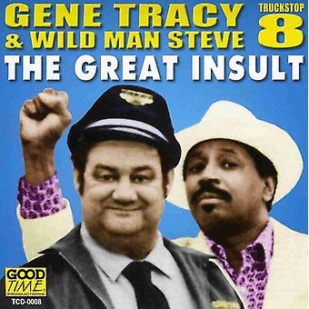 Gene Tracy & Wildman - Great Insult [CD] USA import