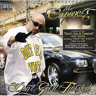 Mr. Capone-E - Don't Get It Twisted [CD] USA import