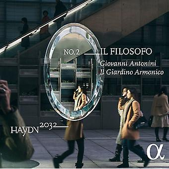 イル ジャルディーノ Armonico - ハイドン wf のレッド バッハ: Il フィロソフォ [CD] USA 輸入