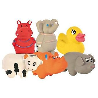 Trixie Baby Zoo Latex Toy with Sound assorted (Dogs , Toys & Sport , In latex)