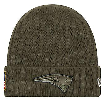New era salute to service winter Hat - New England Patriots