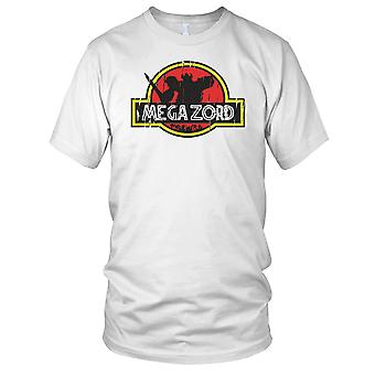 Megazord Power Rangers Jurassic Style Kids T Shirt