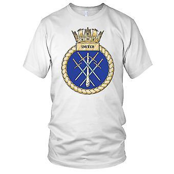 Royal Navy HMS Smiter damer T Shirt