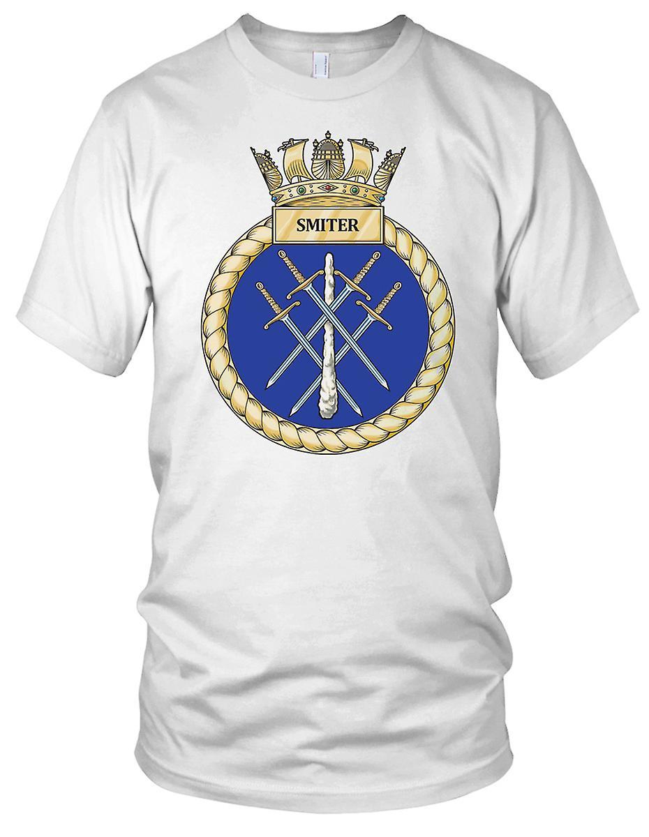 Royal Navy HMS Smiter damer T skjorte