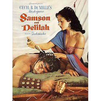 Simson ja Delila elokuvajuliste (11 x 17)