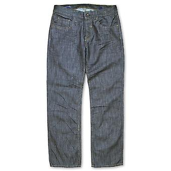 Synergy Prankster Loose Fit Jeans Raw Blue