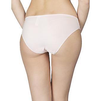 Maison Lejaby 17263-321 Women's Insaisissable Peach Pink Lace Briefs Knickers Bikini
