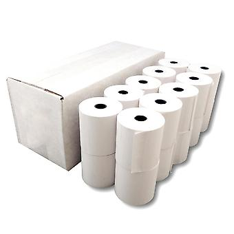 Allrol Cash Register Single Ply Paper Rolls (Pack Of 20)
