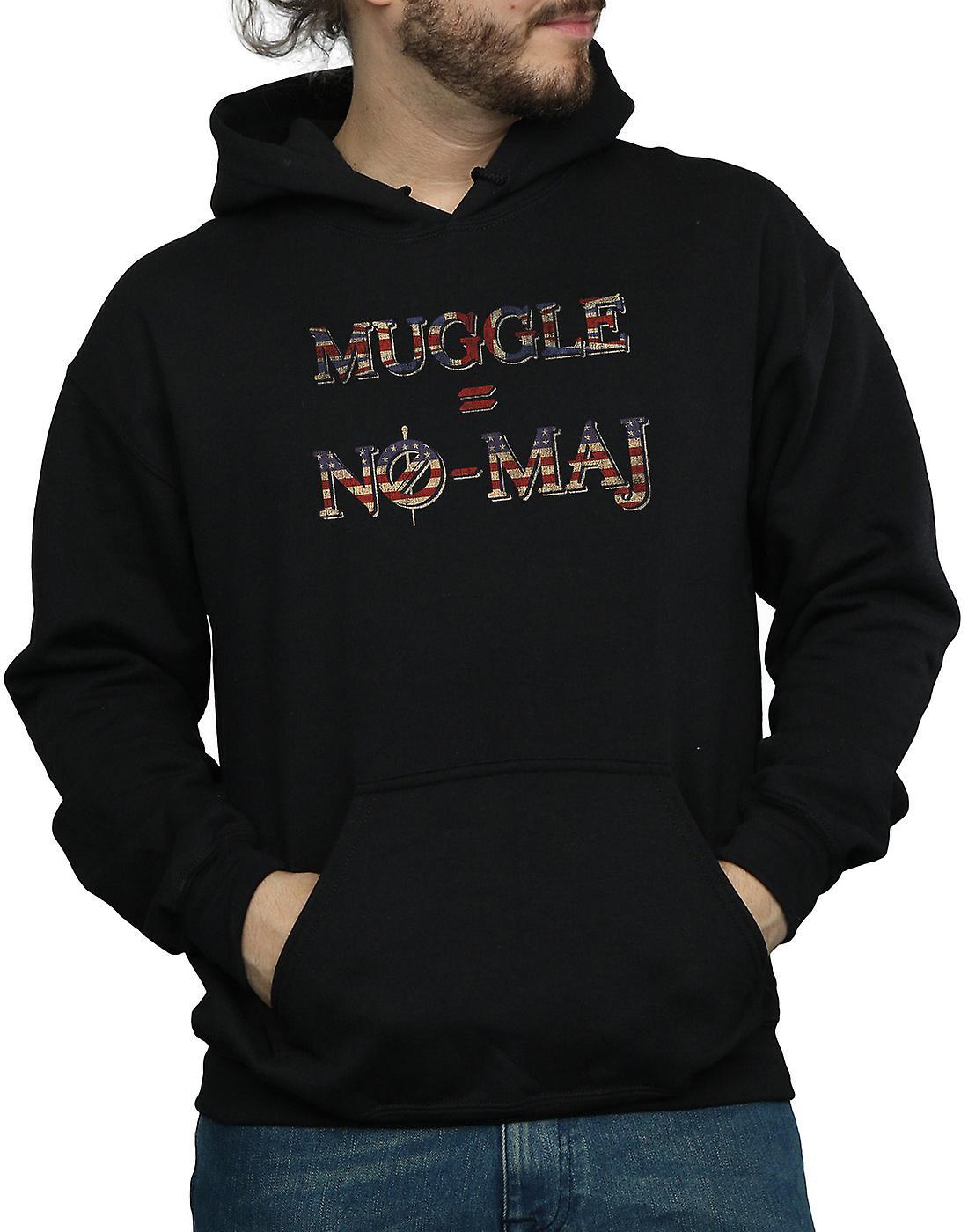 Fantastiska vidunder män är ingen Muggle Inga Maj Hoodie