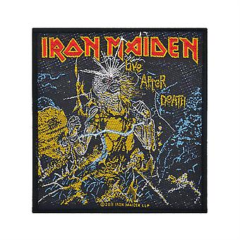 Iron Maiden Live After Death Woven Patch