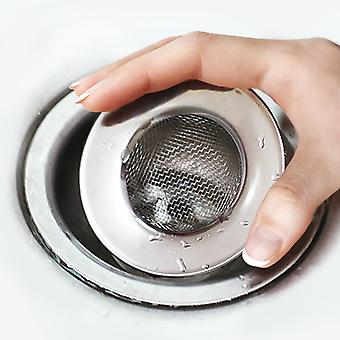 TRIXES Stainless Steel Sink Drain Filter Strainer
