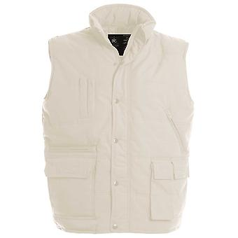 B&C Mens Explorer Multifunctional water resistant bodywarmer