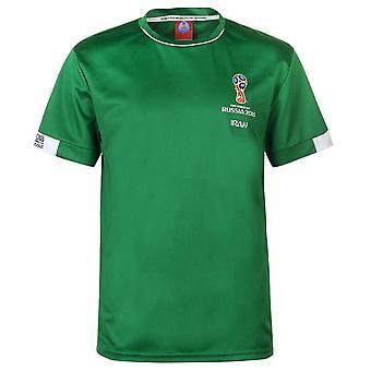 Iran FIFA World Cup 2018 Poly T skjorte Mens (grønn)