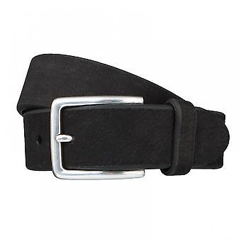SAKLANI & FRIESE belt leather belts men's belts black 3255