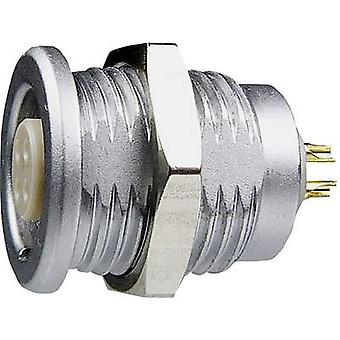 Yamaichi YCP-BWA09ACX-05FSEEX-000X Bullet connector Socket, built-in Series (connectors): YCP Total number of pins: 5 1 pc(s)