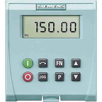 Siemens 6SL3255 0AA00 4BA1 perus toimija paneeli BOP (ei yhteensopiva kanssa MICROMASTER 420)