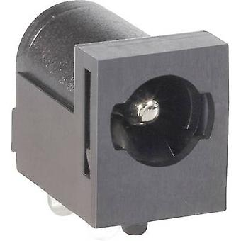 BKL Electronic 075823 Low Power Steckverbinder Buchse, horizontale Montage 5,5 mm 2,5 mm 1 PC