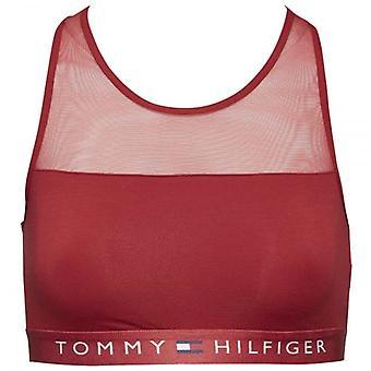 トミー ・ ヒルフィガー女性薄い Flex スクーター赤、大綿ブラレット