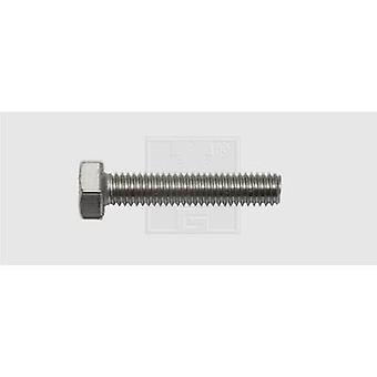 SWG Hexagon head screws M6 30 mm Hex head DIN 933 Stainless steel A2 40 pc(s)