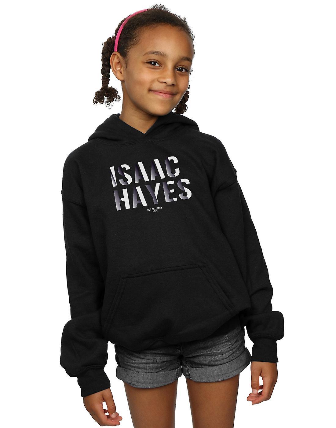 Isaac Hayes Girls Gradient Name Hoodie