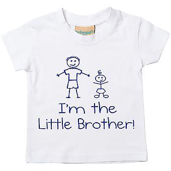 私は小さな弟のホワイト t シャツ