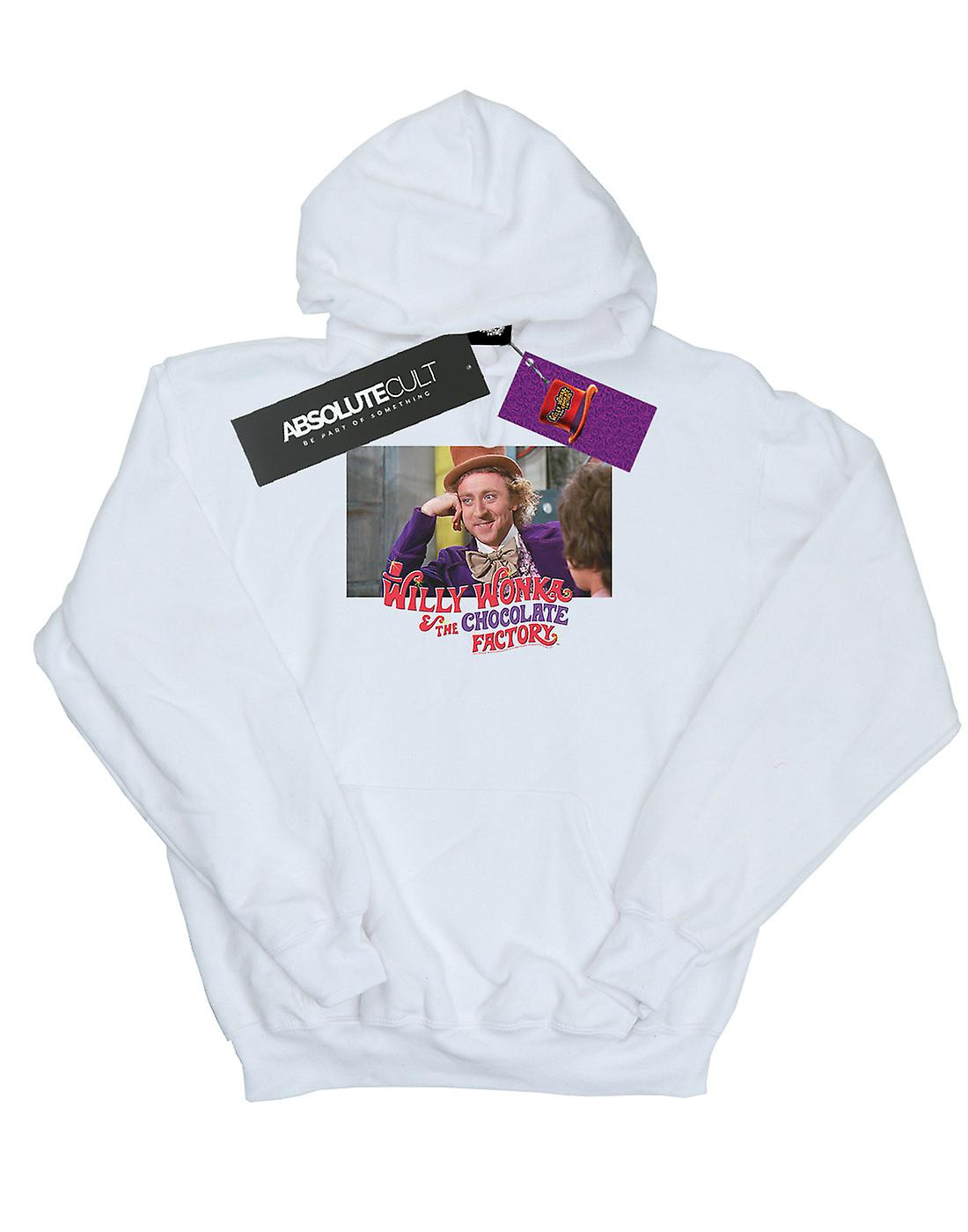Willy Wonka And The Chocolate Factory Girls Condescending Wonka Hoodie