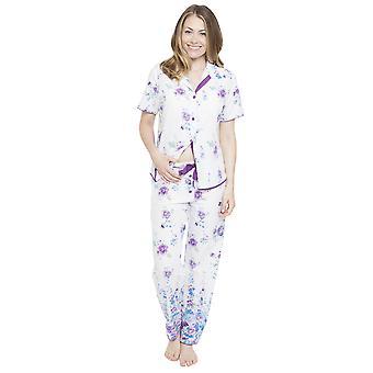 Pantalon de Pyjama imprimé Floral Cyberjammies 4095 féminin Andrea White