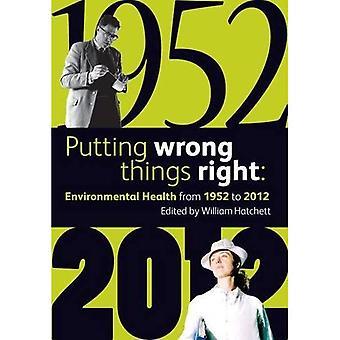 Putting Wrong Things Right: Environmental Health, 1952-2012