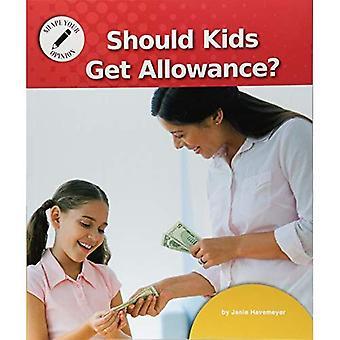 Moeten kinderen krijgen vergoeding?