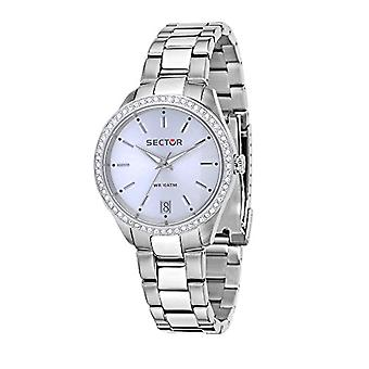 Sector women's Quartz analogue watch with stainless steel band R3253486503