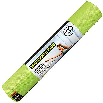 Fitness Mad Warrior II Plus Yoga-Matte - 6 mm - grün