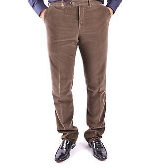 Ballantyne Ezbc099009 Men's Brown Velvet Pants