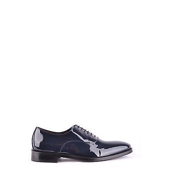 Brian Dales Ezbc126004 Men's Blue Leather Lace-up Shoes