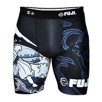 Fuji deportes Mens híbrido de Sakana lidiando cortocircuitos de la compresión - negro