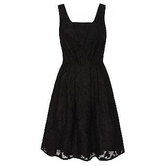 Yumi Womens/Ladies Jacquard Organza Dress