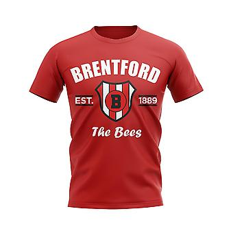 Stabilito di Brentford Football t-shirt (Red)