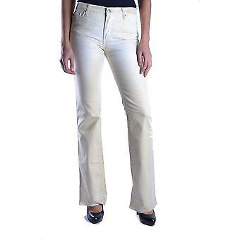 Just Cavalli Ezbc141018 Mujeres's Jeans de Mezclida Blanca