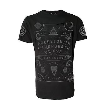 Darkside Clothing Grey Ouija Board T-Shirt