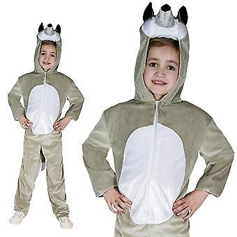 Wolf dog forest children costume one piece Wolf costume