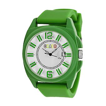 Crayo Sunset Unisex Watch w/Magnified Date - Green