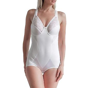 Cortland lingerie style 8620-Soft Cup Body plus bref-blanc