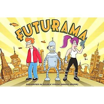 Futurama Poster Large Color Print (24x36)