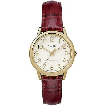 Timex Watch easy reader 30 mm leather bracelet TW2R65400