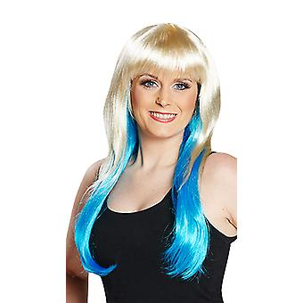 Peggy modrá paruka