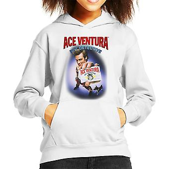 Ace Ventura Pet Detective ID Card Kid's Hooded Sweatshirt