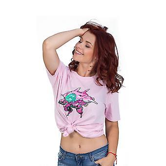 Overwatch D.Va pixel póló Unisex nagy Pink (TS001OW-L)