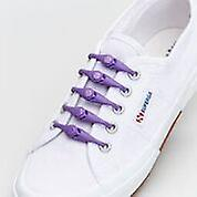 1 Pack of 10 Hickies Kids Replacement Laces for fast slip-on ~ Mystic Purple
